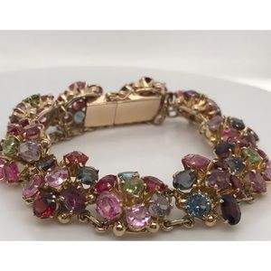 Bracelet- Semiprecious Stones (vintage)